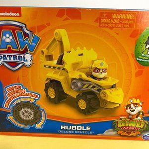 Paw Patrol Dino Rescue Deluxe - Rubble! NIB 🚛 🐾